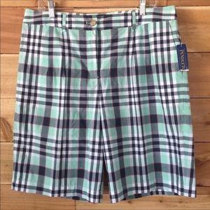 Pendleton Plaid Shorts Key west style size 16